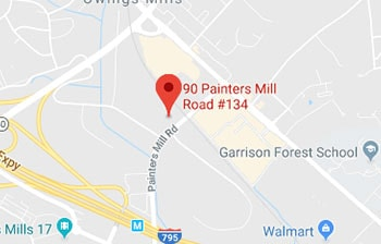 Owings Mills, MD map location
